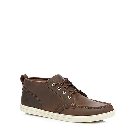 Timberland - Dark brown +Fulk+ lace up shoes
