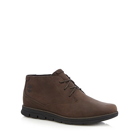Timberland - Brown suede +Bradstreet+ boots