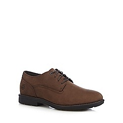 Timberland - Brown 'Carter' waterproof leather Oxford shoes