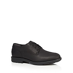 Timberland - Black 'Carter Notch' Oxford shoes
