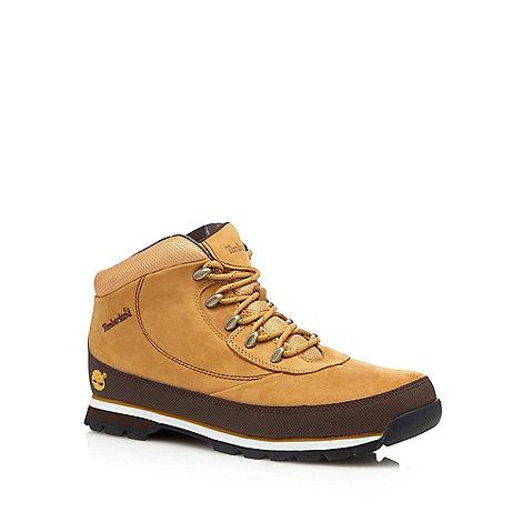 Timberland - Tan suede +Eurobrook+ hiking boots