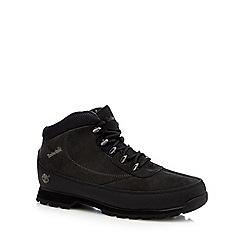 Timberland - Black 'Eurobrook' boots