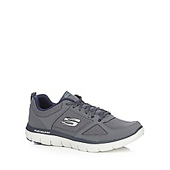 Skechers - Grey 'Flex Advantage 2.0' trainers