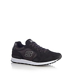 Skechers - Black 'Early Grab' trainers