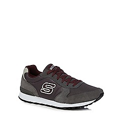 Skechers - Grey 'Early Grab' trainers