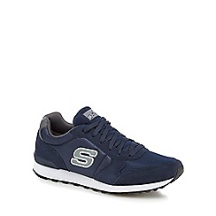 Skechers - Navy 'Early Grab' trainers