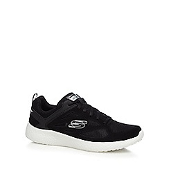 Skechers - Black 'Burst Gambit Overly' trainers