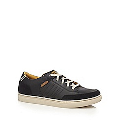 Skechers - Black 'Elvino' leather trainers