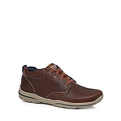 Skechers - Tan brown 'Harper' leather boots