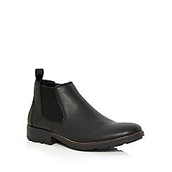 Rieker - Black leather Chelsea boots