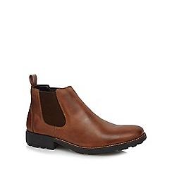 Rieker - Tan Chelsea boots
