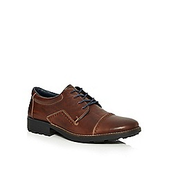 Rieker - Brown toe cap lace up shoes