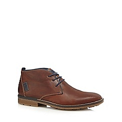 Rieker - Tan leather chukka boots