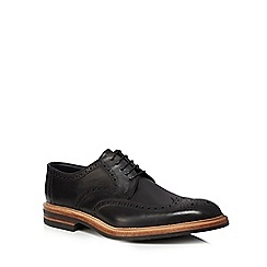 Loake - Black leather 'Redgrave' brogues