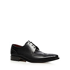 Loake - Black leather 'Kruger' brogues