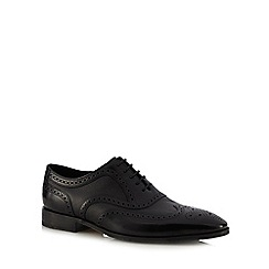 Loake - Black leather brogues
