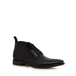 Loake - Black leather chukka boots