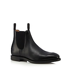 Loake - Black leather Chelsea boots