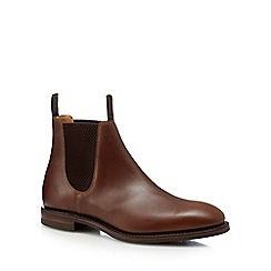 Loake - Brown leather Chelsea boots