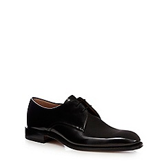 Loake - Black patent leather Derby shoes