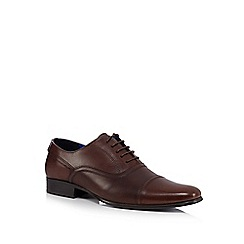 Red Tape - Brown leather Oxford shoes