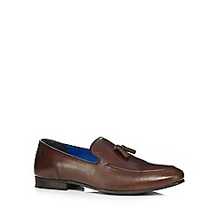 Red Tape - Brown 'Ampthill' loafers