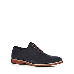 Red Tape - Navy 'Brickhil' brogues