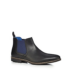Red Tape - Black 'Stockwood' Chelsea boots