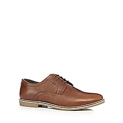 Red Tape - Tan 'Campton' Derby shoes