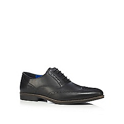 Red Tape - Black 'Kildare' brogues