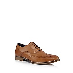 Red Tape - Tan leather 'Kildare' brogues
