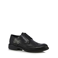 G-Star Raw - Black 'Warth' panel detail shoes