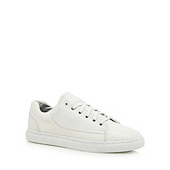 G-Star Raw - White lace up trainers
