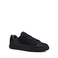 G-Star Raw - Navy blue lace up trainers