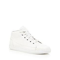 G-Star - White high top trainers