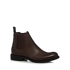 G-Star Raw - Brown 'Warth' chelsea boots