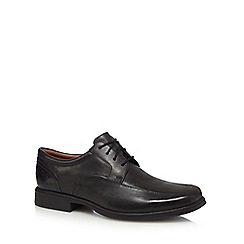 Clarks - Black 'Huckley Spring' lace up shoes