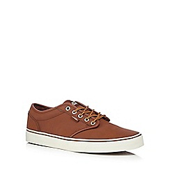 Vans - Tan 'Atwood' lace up trainers