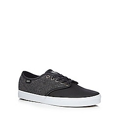 Vans - Black 'Camden' lace up trainers