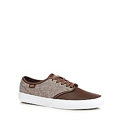 Vans - Brown 'Camden' trainers