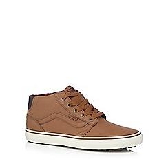 Vans - Tan 'Chapman' chukka boots