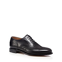 Loake - Black calf leather brogues