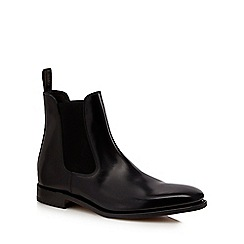Loake - Black patent Chelsea boots