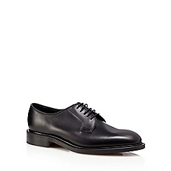 Loake - Black 'Perth' leather Derby shoes
