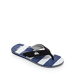 Quiksilver - Navy 'Molokai' flip flops