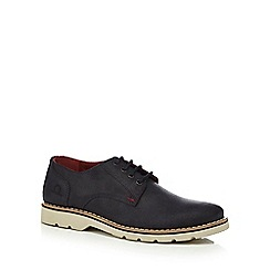 Chatham Marine - Navy suede 'Dexter' lace up shoes