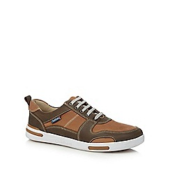Chatham Marine - Brown leather 'Recoil' trainers