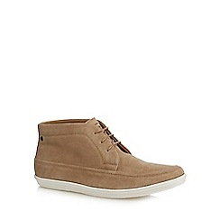 Base London - Taupe suede 'Venue' chukka boots