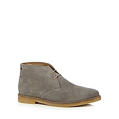 Base London - Grey suede 'Charlton' desert boots
