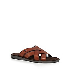 Base London - Tan leather 'Apollo' sandals